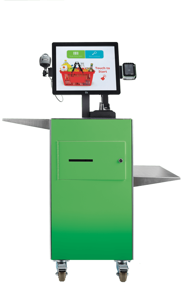 Mobile Self-Checkout Kiosk