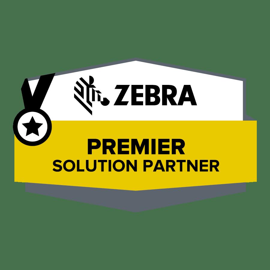 Zebra Premier Solutions Partner Badge