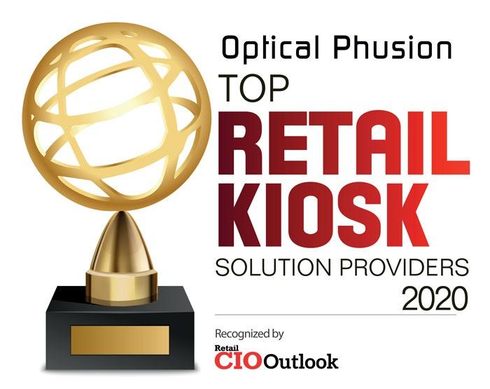 CIO Outlook Top Retail Kiosk Provider 2020