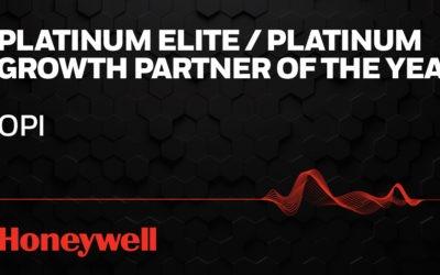 Optical Phusion Wins Prestigious Award from Honeywell North America