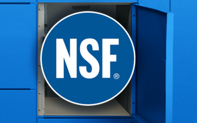 OPI Locker Stations are NSF Certified