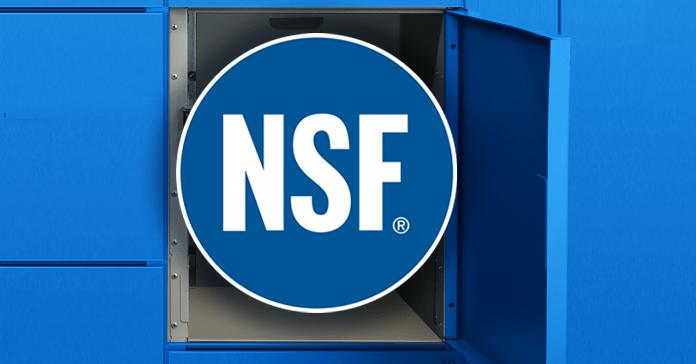 NSF Certified Lockers